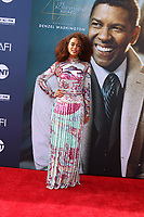 LOS ANGELES - JUN 6:  Tais Araujo at the  AFI Honors Denzel Washington at the Dolby Theater on June 6, 2019 in Los Angeles, CA