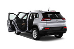 Car images close up view of a 2018 Jeep Cherokee Latitude 5 Door SUV doors