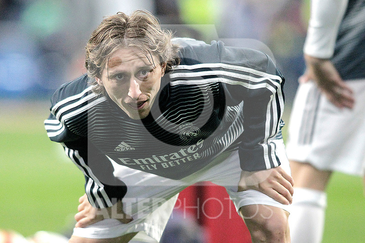 Real Madrid CF's  Luka Modric during La Liga match. February 27,2019. (ALTERPHOTOS/Alconada)