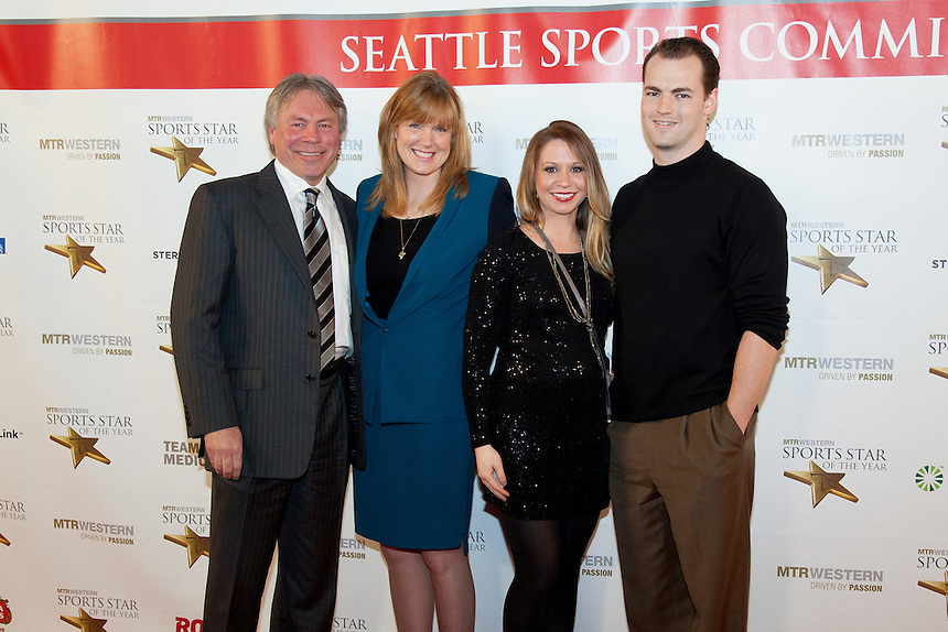 The 78th Sports Star of the Year banquet at Benaroya Hall in Seattle on January 25, 2013. (Photo by Scott Eklund /Red Box Pictures)