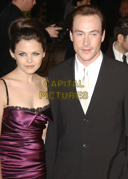 25 February 2007 - West Hollywood, California - Ginnifer Goodwin and Chris Klein. The 2007 Vanity Fair Oscar Party Hosted by Graydon Carter held at Morton's. Photo Credit: Gary Boas/AdMedia
