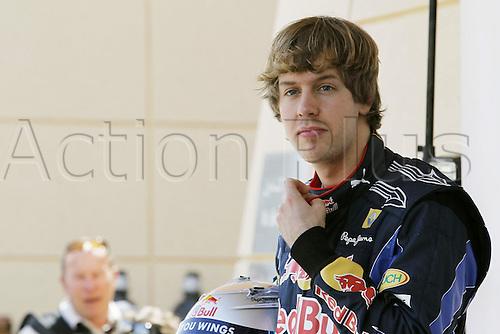 11 03 2009 Copyright Actionplus/Kraling. Sebastian Vettel Red Bull Racing F1, Manama, Bahrain, Sakhir Circuit, Formula 1, GP Photo : Imago/Actionplus. Editorial Use UK.