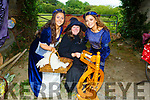 Enjoying the day at the Enchanted Festival in Kilflynn on Sunday.<br /> Ailbhe Stack, Christine Best and Ruby O'Riordan.