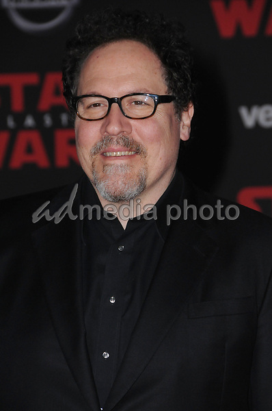 "09 December  2017 - Los Angeles, California - Jon Favreau. Premiere Of Disney Pictures And Lucasfilm's ""Star Wars: The Last Jedi"" held at The Shrine Auditorium  in Los Angeles Photo Credit: Birdie Thompson/AdMedia"