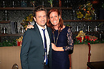 LOS ANGELES - DEC11: Tom Lenk, Elisa Donovan at Scott Nevins Presents SPARKLE: An All-Star Holiday Concert to benefit The Actors Fund at Rockwell Table & Stage on December 11, 2014 in Los Angeles, California
