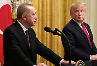 President Trump welcomes Turkey's President Erdogan to the White House