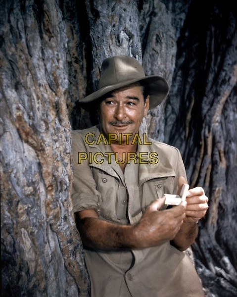 Errol Flynn.in The Roots of Heaven.*Filmstill - Editorial Use Only*.CAP/PLF.Supplied by Capital Pictures.