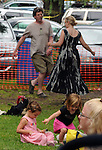 Members of the audience dancing to the music during a performance of the Klezmatics band at the Sloop Stage of the 2012 Clearwater Festival at Croton Point Park on Sunday, June 17, 2012. Photograph taken by Jim Peppler. Copyright Jim Peppler/2012.