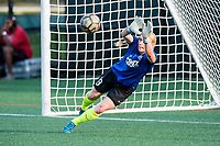 Boston, MA - Friday August 04, 2017: Catherine Parkhill during a regular season National Women's Soccer League (NWSL) match between the Boston Breakers and FC Kansas City at Jordan Field.