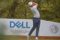 Alex Noren (SWE) watches his tee shot on 10 during day 3 of the World Golf Championships, Dell Match Play, Austin Country Club, Austin, Texas. 3/23/2018.<br /> Picture: Golffile | Ken Murray<br /> <br /> <br /> All photo usage must carry mandatory copyright credit (&copy; Golffile | Ken Murray)