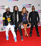 Will.i.am,Taboo,Fergie and Apl.de.ap of The Black Eyed Peas at The 2010 American Music  Awards held at Nokia Theatre L.A. Live in Los Angeles, California on November 21,2010                                                                   Copyright 2010  DVS / Hollywood Press Agency