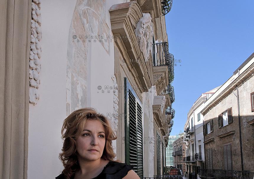 Luna Figurelli Notarbartolo in his family mansion building (XV cent.) In the center of Palermo.<br /> <br /> Luna Figurelli Notarbartolo nella sua dimora di famiglia nel centro storico di Palermo.