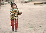 Alba Canabi is a 2-year old Guarani indigenous girl in the village of Mberirenda, Bolivia. Church World Service works with families in the village to strengthen the leadership of women and youth.