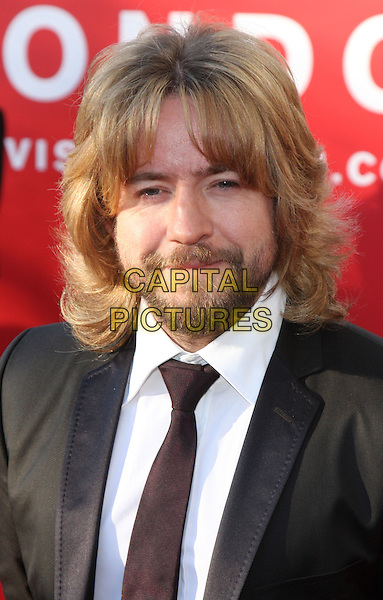 JUSTIN LEE COLLINS.Arrivals at the British Academy Television Awards 2009, Royal Festival Hall, London, England. .April 26th 2009 .TV Baftas bafta's headshot portrait beard long hair facial brown black tie .CAP/ROS.©Steve Ross/Capital Pictures..