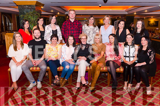 Nora Ferries from Killarney celebrated her 60th birthday with friends from Cullina NS, Beaufort in the Plaza Hotel, Killarney last Friday night.