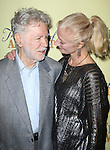 Playwright William Luce and Joely Richardson attend the Off-Broadway Opening Night Press reception for 'The Belle of Amherst'  at the Westside Theatre on October 19, 2014 in New York City.