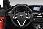 Car pictures of steering wheel view of a 2019 BMW Z4 Sport 2 Door Convertible Steering Wheel