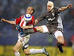 fudbal, finale Kupa SCG-a, sezona 2005/06.CRVENA ZVEZDA-OFK BEOGRAD.DUSAN DJOKIC & SLOBODAN RAJKOVIC.BGD, 10.05.2006..FOTO: SRDJAN STEVANOVIC