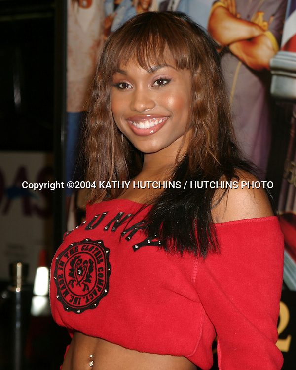 "©2004 KATHY HUTCHINS / HUTCHINS PHOTO.""BARBERSHOP 2 : BACK IN BUSINESS"" PREMIERE.HOLLYWOOD, CA.JANUARY 20, 2004..ANGEL CONWELL"