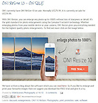 Promotion - ON1 ReSize 10 - ON SALE<br /> <br /> http://widescenes.blogspot.com.au/