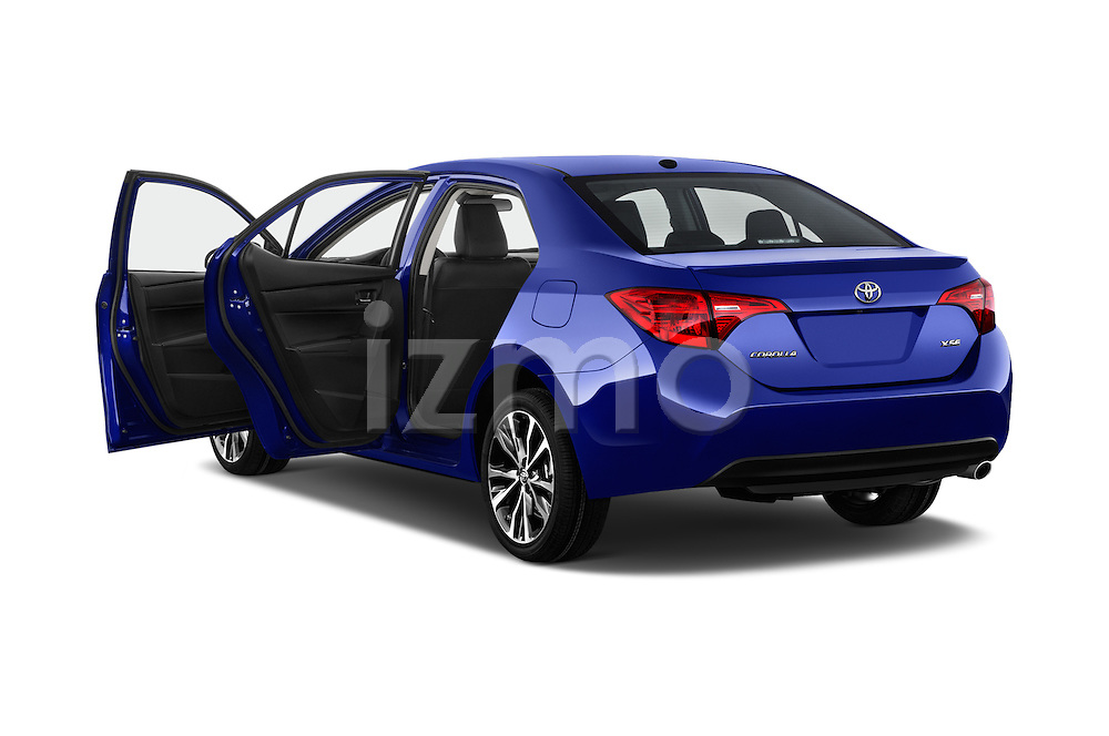 Car images of 2017 Toyota Corolla XSE-AT 4 Door Sedan Doors