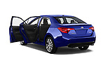 Car images of 2017 Toyota Corolla XSE-AT 4 Door Sedan Doors