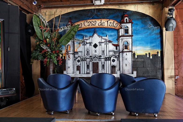Little Havana street scenes and nightclub on a tour of Caya Ocho Rd.