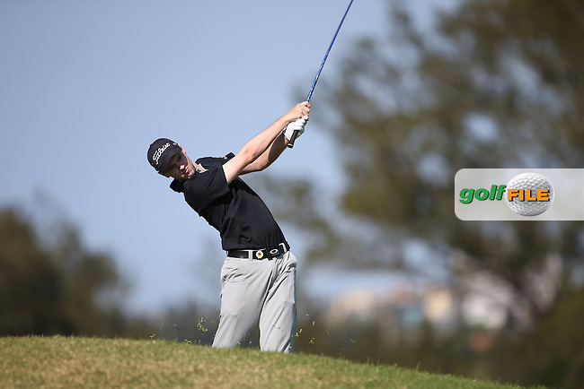 Kevin Phelan (IRL) posts a 67 and is leader all day matched only by Matt Ford (ENG) during Round One of the Africa Open 2015 at the East London Golf Club, East London, Eastern Cape, South Africa. Picture:  David Lloyd / www.golffile.ie. 05/03/2015
