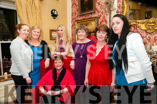 Xmas Party: The staff of Kelly's Store, Six Crosses, Listowel enjoying their Christmas party at the  Listowel Arms Hotel on Friday night last. L-R: Mairead O'Connell, Helen Nash, Julie Royston,  Katie Shine, Helen O'Connor, Annette Murpphy & Annette Hughes.
