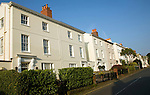 Regency style housing, St Peter Port, Guernsey, Channel Islands, UK