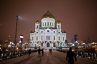 Cathedral of Christ the Savior - Moscow - Russia