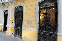 Exterior of the Casa Frederick Catherwood in Merida, Yucatan, Mexico