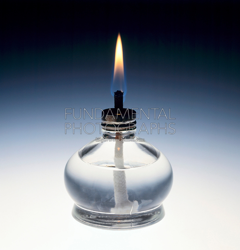 ALCOHOL LAMP<br /> Burning Ethyl Alcohol