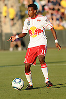 Danleigh Borman...Kansas City Wizards were defeated 3-0 by New York Red Bulls at Community America Ballpark, Kansas City, Kansas.