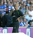 20/08/2005         Copyright Pic : James Stewart.File Name : jspa36 rangers v celtic.CELTIC BOSS GORDON STRACHAN WATCHES HIS SIDE GO 3-1 DOWN THE RANGERS....Payments to :.James Stewart Photo Agency 19 Carronlea Drive, Falkirk. FK2 8DN      Vat Reg No. 607 6932 25.Office     : +44 (0)1324 570906     .Mobile   : +44 (0)7721 416997.Fax         : +44 (0)1324 570906.E-mail  :  jim@jspa.co.uk.If you require further information then contact Jim Stewart on any of the numbers above.........