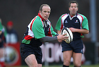 Action in the charity match between the Ulster 1999 XV and a Wooden Spoon Select XV at Shaw's Bridge Belfast.  Mandatory Credit - Photo : John Dickson