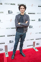 Max Burkholder attends Los Angeles premiere of ABOUT ALEX on August 6, 2014 (Photo by Crash/Guest of A Guest)