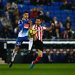 RCD Espanyol 1 v 1 Athletico Club Bilbao, Jornada 19 on 14 January 2018, RCDE Estadium, Barcelona. La Liga Santander 2018. Photo Martin Seras Lima