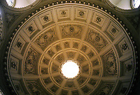 Sir Christopher Wren: St. Stephen Walbrook, London. Detail of dome.
