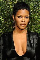 NEW YORK, NY - NOVEMBER 6: Teyana Taylor at the 14th Annual CFDA Vogue Fashion Fund Gala at Weylin in Brooklyn, New York City on November 6, 2017. <br /> CAP/MPI/JP<br /> &copy;JP/MPI/Capital Pictures