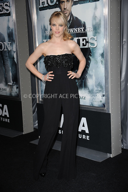 WWW.ACEPIXS.COM . . . . . ....December 17 2009, New York City....Actress Rachel McAdams arriving at the New York premiere of 'Sherlock Holmes' at the Alice Tully Hall, Lincoln Center on December 17, 2009 in New York City.....Please byline: KRISTIN CALLAHAN - ACEPIXS.COM.. . . . . . ..Ace Pictures, Inc:  ..(212) 243-8787 or (646) 679 0430..e-mail: picturedesk@acepixs.com..web: http://www.acepixs.com
