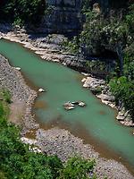 Tskaltsitela Fluss beim Kloster Motsameta, Imeretien - Imereti;, Georgien, Europa<br /> river Tskaltsitela  near Monastery Motsameta,  Inereti,  Georgia, Europe