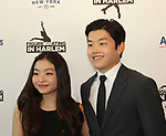Maia & brother Alex Shibutani (recently represented Team USA in the 2018 Olympics) at Figure Skating in Harlem's Champions in Life (in its 21st year) Benefit Gala recognizing the medal-winning 2018 US Olympic Figure Skating Team on May 1, 2018 at Pier Sixty at Chelsea Piers, New York City, New York. (Photo by Sue Coflin/Max Photo)