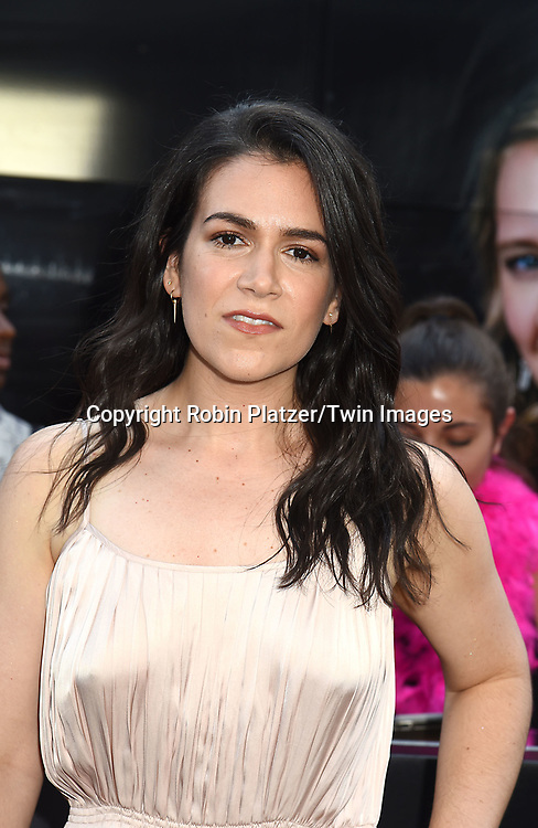Abbi Jacobson attends the &quot;Rough Night&quot; World Premiere on June 12, 2017 at AMCLowes Lincoln Square 13 in New York, New York, USA.<br /> <br /> photo by Robin Platzer/Twin Images<br />  <br /> phone number 212-935-0770