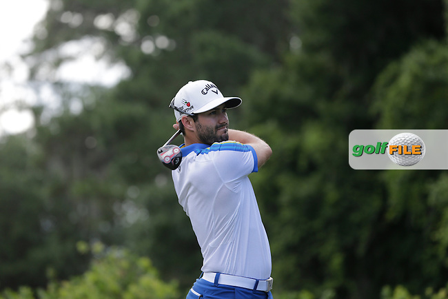 Adam Hadwin (CAN) during round 2 at The Players, TPC Sawgrass, Ponte Vedra Beach, Florida, United States. 08/05/2015<br /> Picture Fran Caffrey, www.golffile.ie