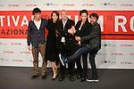 IM Roma 09-11-2013 <br /> Festival Internazionale del Film Roma 2013<br /> nella foto Cast La Luna su Torino<br /> foto Marco Iorio