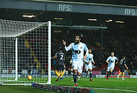 Blackburn Rovers' Danny Graham celebrates scoring his side's fourth goal <br /> <br /> Photographer Rachel Holborn/CameraSport<br /> <br /> The EFL Sky Bet Championship - Blackburn Rovers v Sheffield Wednesday - Saturday 1st December 2018 - Ewood Park - Blackburn<br /> <br /> World Copyright © 2018 CameraSport. All rights reserved. 43 Linden Ave. Countesthorpe. Leicester. England. LE8 5PG - Tel: +44 (0) 116 277 4147 - admin@camerasport.com - www.camerasport.com