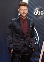 NASHVILLE, TN - NOVEMBER 14:  Chris Lane at the 52nd Annual CMA Awards at the Bridgetone Arena on November 14, 2018 iin Nashville, Tennessee. (Photo by Scott Kirkland/PictureGroup)