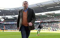 FUSSBALL   1. BUNDESLIGA   SAISON 2012/2013    30. SPIELTAG SV Werder Bremen - VfL Wolfsburg                          20.04.2013 Klaus Allofs (Wolfsburg) im Bremer Weserstadion