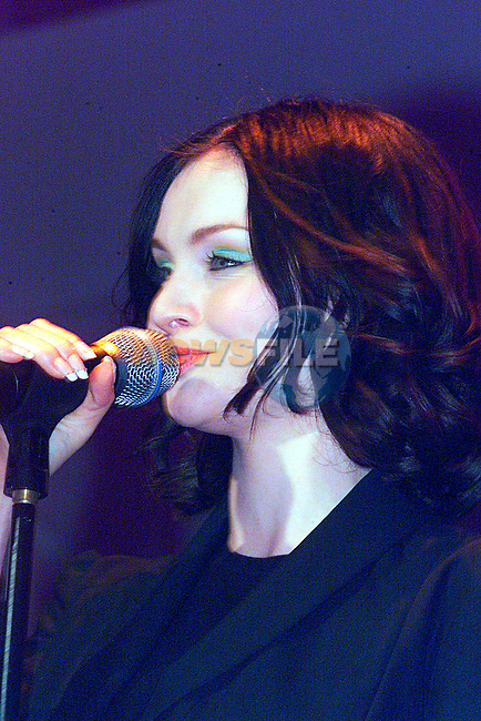Sophie Ellis Bexter at the Chidline Concent in the Point...Pic Tony Campbell/Newsfile